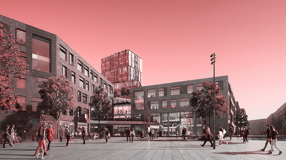 nowy kampus VIA University College w Horsens