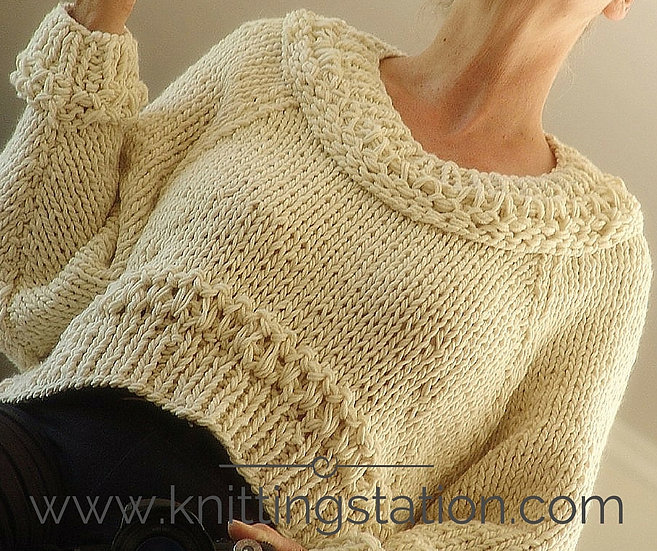 LaBelle Cropped Sweater