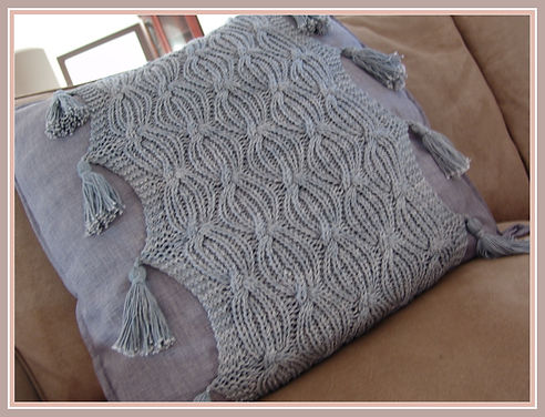 Knitting Station Waves Cover Pattern