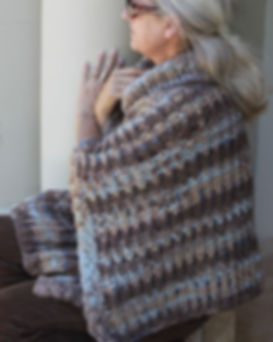 Knitting Station Bronco Poncho Pattern