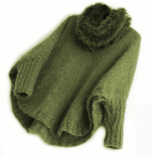 Sigh Poncho Sweater
