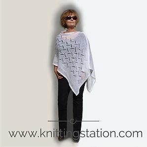 interlude Poncho Knitting Station