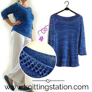 Rosmarin Top Knitting Station