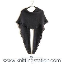 Acacia Cotton Shawl Knitting Station