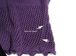 Knitting Station Better Seaming