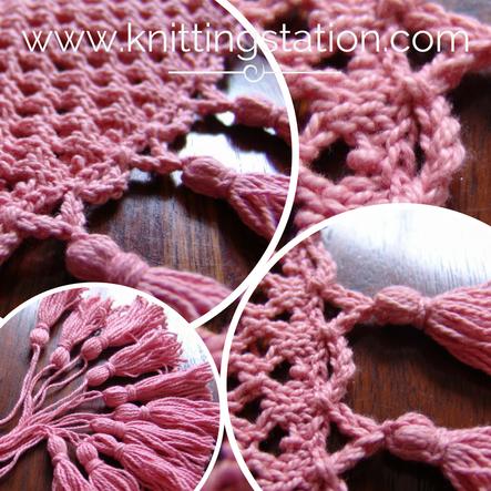 Voila Poncho Tutorial Knitting Station