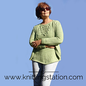 Willow Cardi Knitting Station