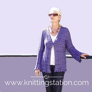 Slinky Cardi Knitting Station