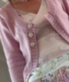 Cornflower Cardi Knitting Pattern