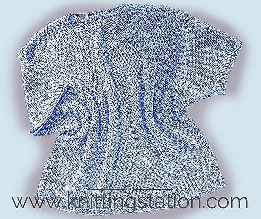 Knitting Station Featherlight Tee Pattern
