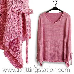 Bardot Top Knitting Station
