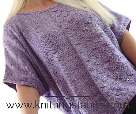 Knitting Station Butterfly Tee Pattern