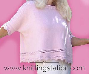 Diamond Tee Knitting Station