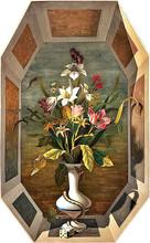 Nature morte - Le serpent et les fleurs