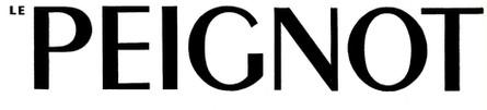 Typographie le Peignot