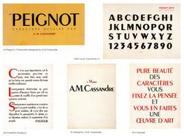 Typographie le Peignot 1937