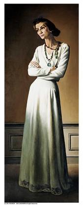 Portrait de Mademoiselle Chanel