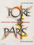 Affiche Litographique 1957