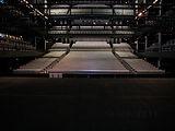 Plancher de scène de la salle de spectacle CEPAC Silo à Marseille