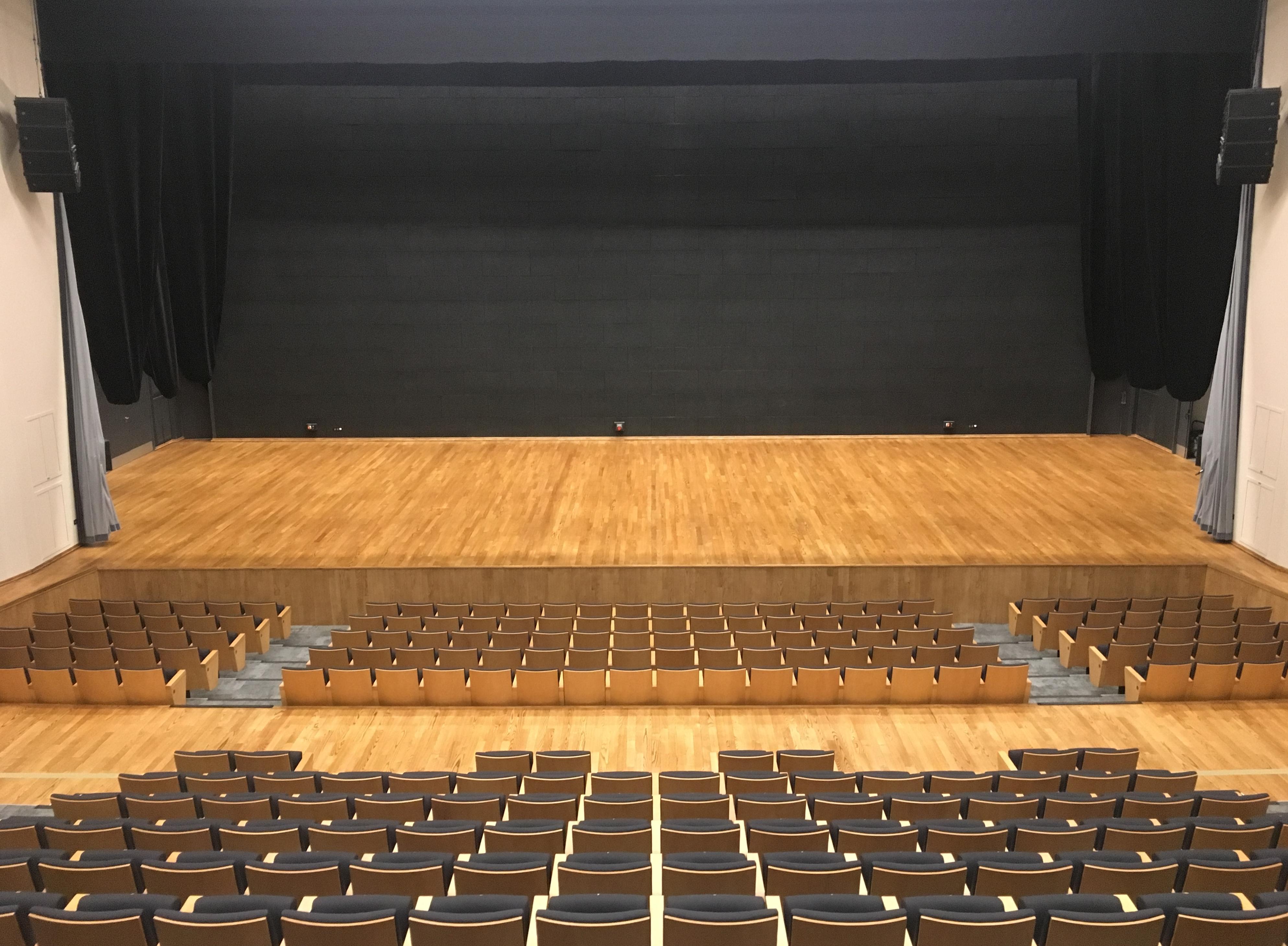 Plancher de scène du Centre des Congrès de Valenciennes