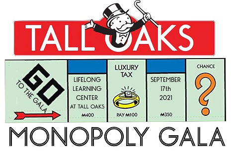 2021 Gala save the date Monopoly Graphic