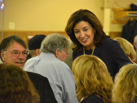 Hochul feels Democratic wave on Nov. 6