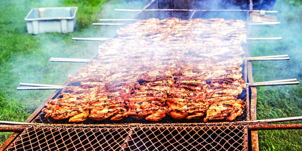 Summer Picnic-Chicken Barbecue
