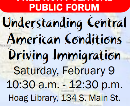 Free Forum This Saturday