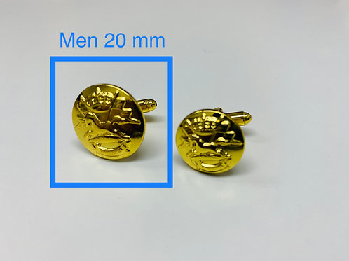 20 mm Frontiersmen uniform buttons (MEN)