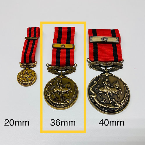 36 mm Frontiersmen Long Service and Efficiency Medal (Replacement)