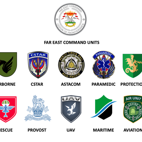 Appointments and Promotions of Frontiersmen (Far East Command) 2019