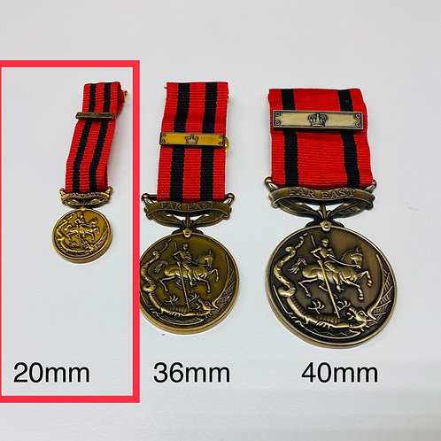 20 mm Frontiersmen Long Service and Efficiency Medal (Replacement)