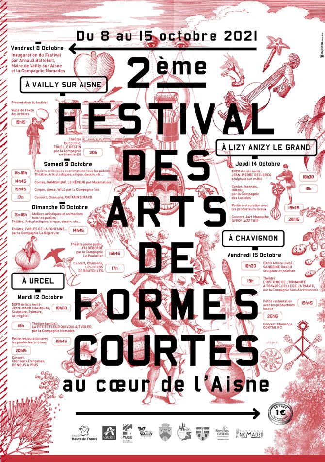 2ème Festival des Arts de Formes Courtes,    c'est parti !