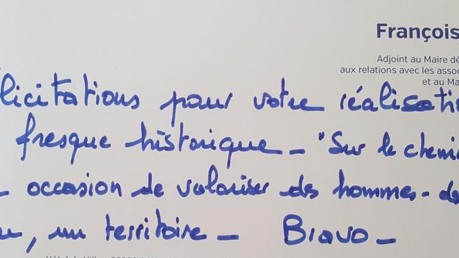 """""""Grandiose, Magnifique"""" les réactions !"""