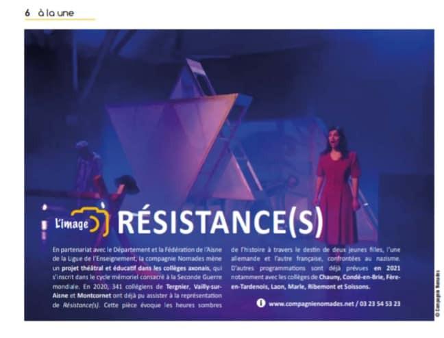 Résistance(s) à l'honneur dans les publications du Conseil Départemental !