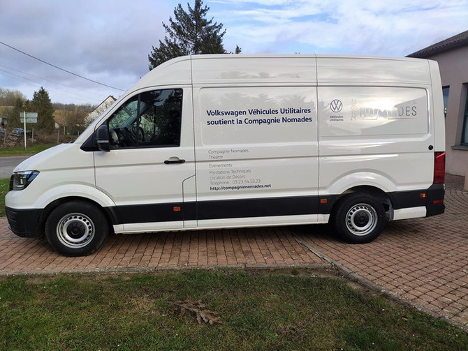 Volkswagen Véhicules Utilitaires / Groupe Volkswagen France soutient la Compagnie Nomades !