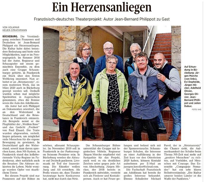 Résistance(s) dans les médias Allemands !