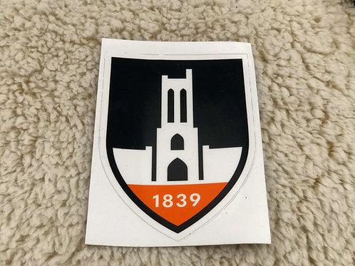 City Shield Bumper Sticker