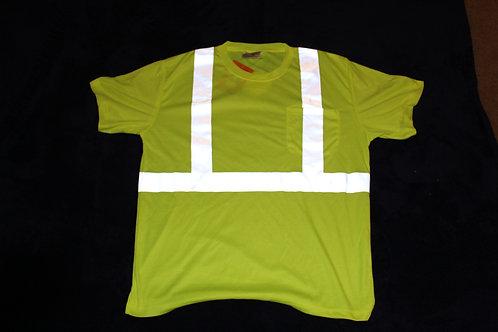 CornerStone® - ANSI 107 Class 2 Safety T-Shirt CS401