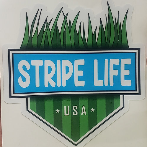 Stripe Life Sticker