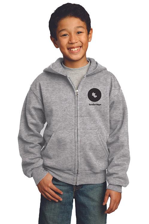 Tunbridge Middle School Zipper Hoodie