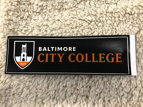 City College Sticker