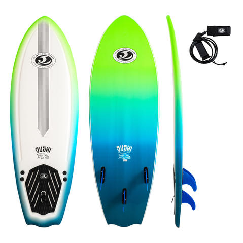 """5'8"""" Sushi Surfboard"""