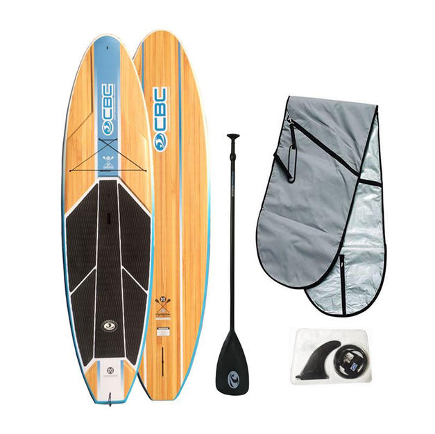 """10'6"""" Typhoon Wood Graphic Compression Molded ABS SUP (Sam's Club)"""