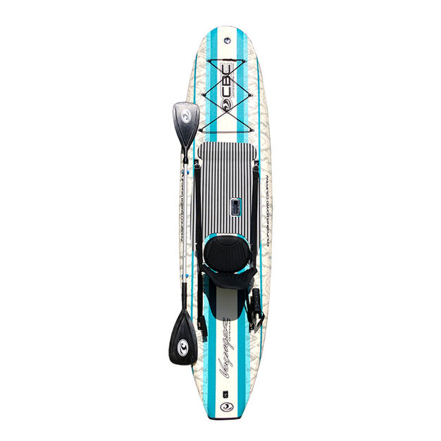 """10'6"""" Voyager Crossover Fishing SUP"""