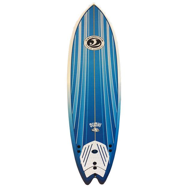 """6'2"""" Sushi Surfboard"""