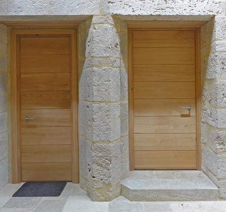 Portes intérieures.