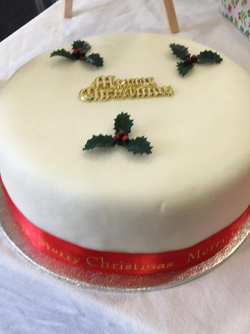 """Christmas Cake 6"""""""