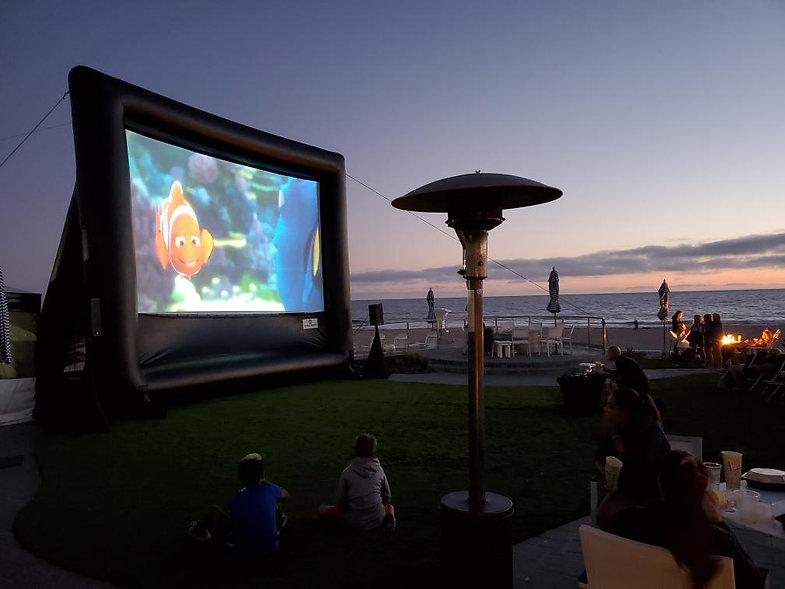 8-19 - Monarch Beach Resport - Movie Nig