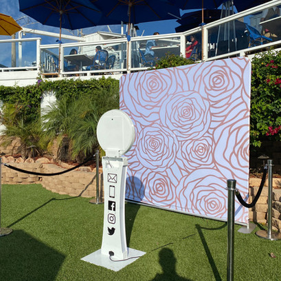Slimbooth Digital Phto Booth at Occasion